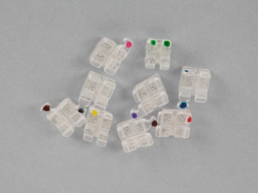 LUCI mini Keramikbrackets / 20 Stück|Niti4u Online-Shop